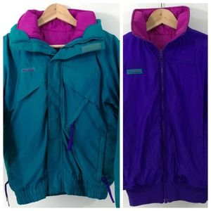 Vintage Columbia Whirlibird  3 in 1 Jacket Size L